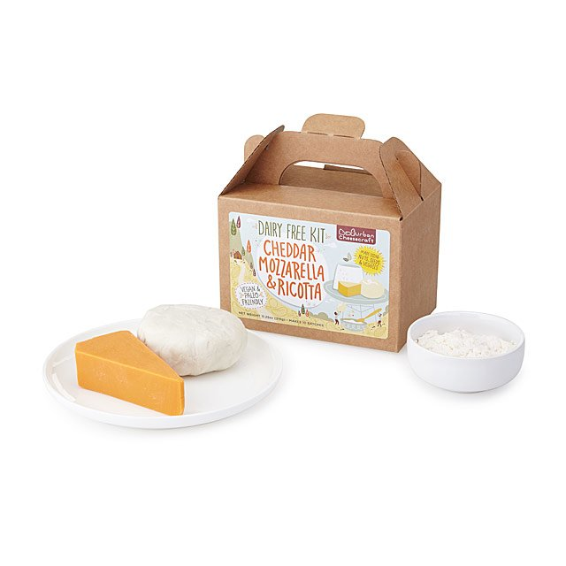 Dairy Free Cheddar, Mozzarella and Ricotta Kit