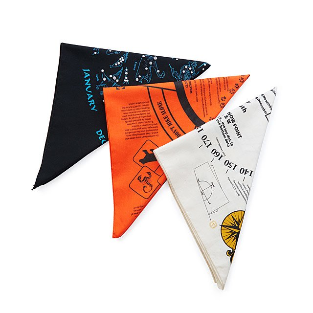 Nature-Inspired Bandanas Trio