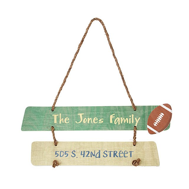 Personalized House Marker Sign