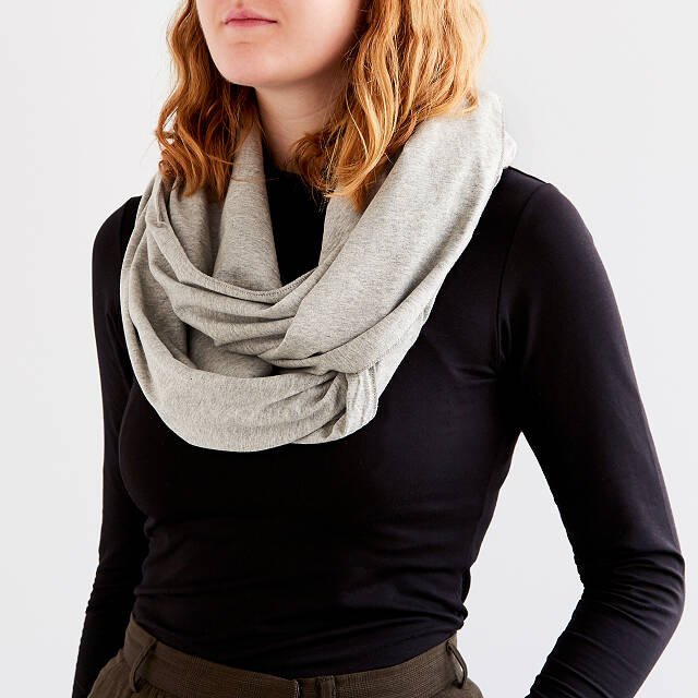 Convertible Travel Pillow Infinity Scarf