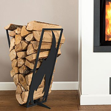 Baltic Steel Firewood Rack