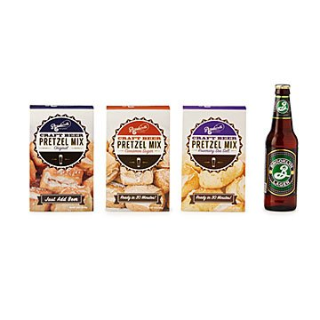 Craft Beer Pretzel Mix Trio