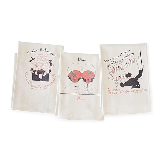 The Art of Wine Towels - Set of 3