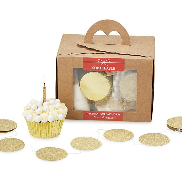 Champagne Cupcake Baking Kit
