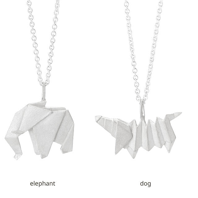 Origami Menagerie Necklaces
