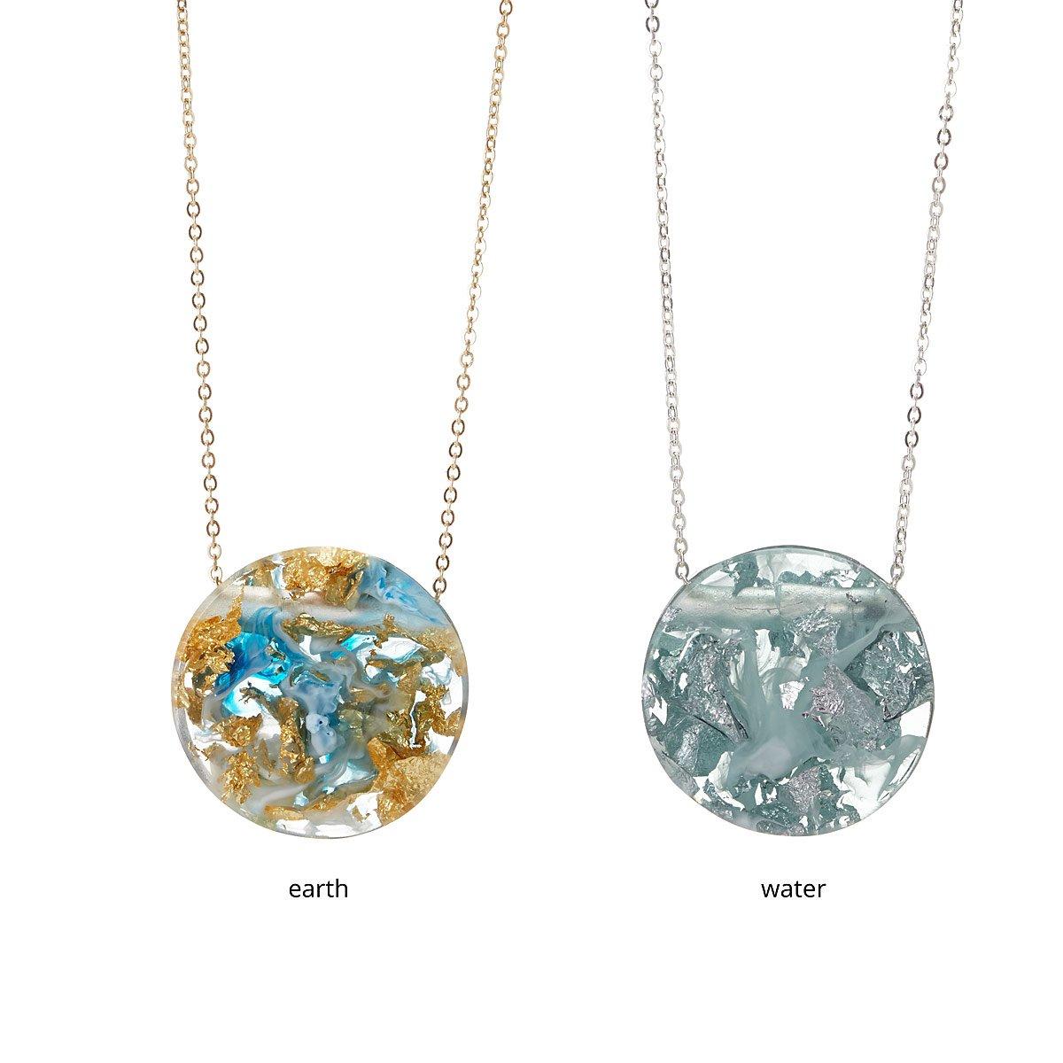 Origami Menagerie Necklaces   Origami jewelry, Origami necklace ...