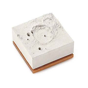 Moon Crater Desktop Sculpture