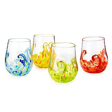 Elemental Twist Wine Glass Set