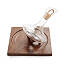 Revolving Walnut Wine Decanter 2 thumbnail