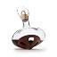 Revolving Walnut Wine Decanter 3 thumbnail