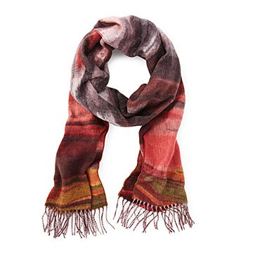Jupiter's Storm Winters Day Scarf