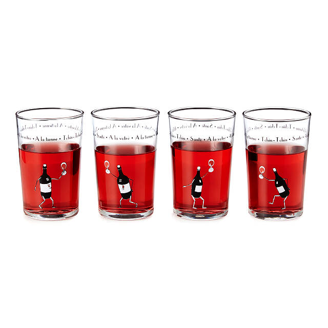 The Art of Everyday Wine Glasses - Set of 4