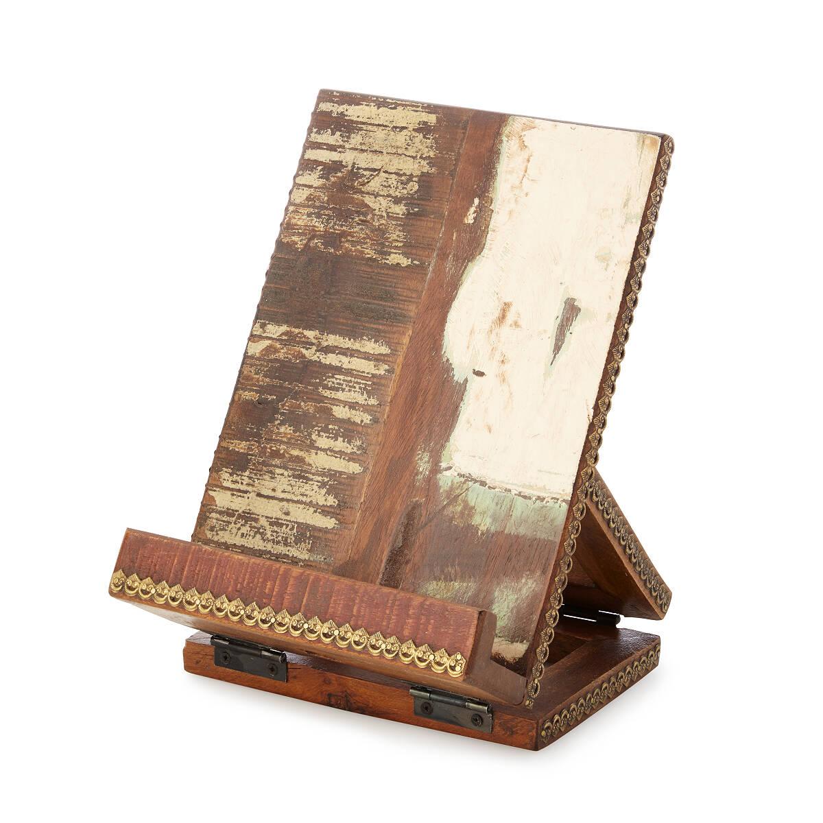 Salvaged Wood Cookbook U0026 Tablet Stand 2 Thumbnail