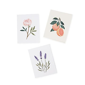 Botanical Scented Cards