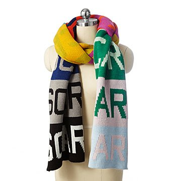 Over-Sized Color Block Scarf