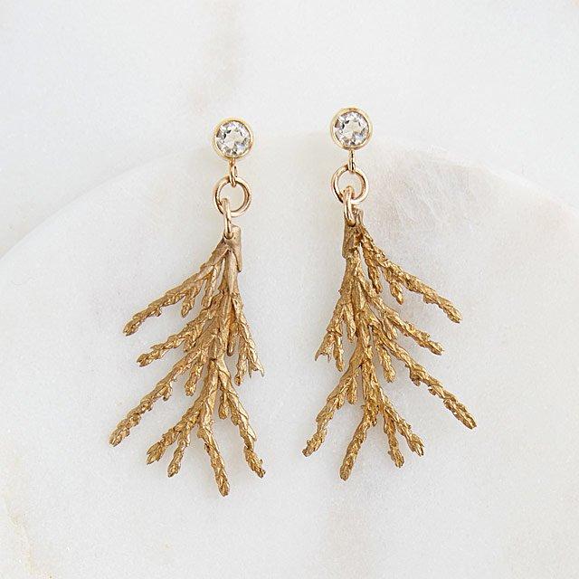 Cedar Sparkle Earrings