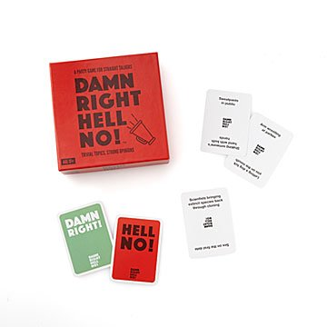 Damn right, hell no! Party Game