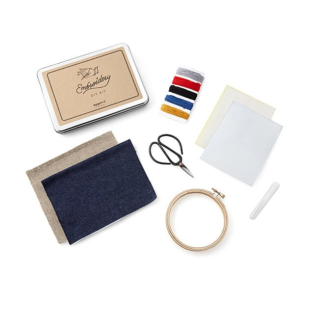 Embroidery Patch Kit
