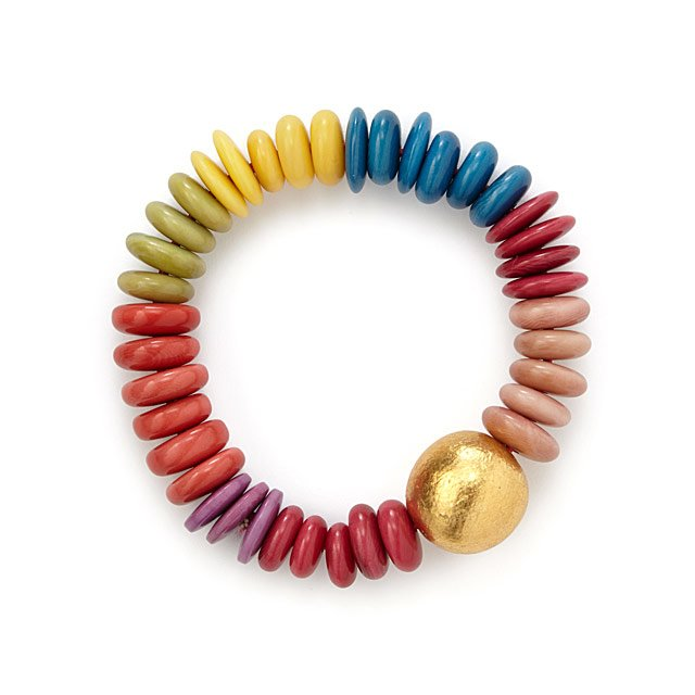 Living in Color Tagua Bracelet