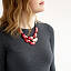 Lots of Love Tagua Bib Necklace 3 thumbnail
