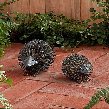 Hedgehog Garden Friends