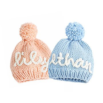 Knit Your Own Personalized Baby Hat