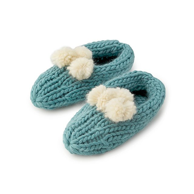 Create Your Own Pom Pom Slippers