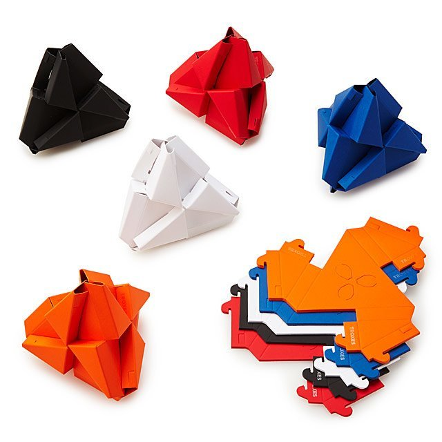 Origami Building Blocks Paper Toy Building Toys Uncommongoods