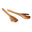 Hand Carved Olive Wood Serving Set 2 thumbnail