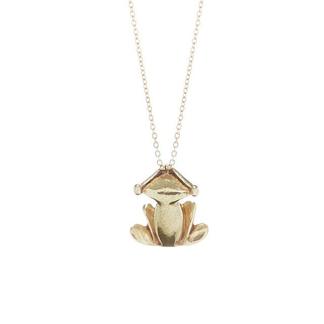pendant of large with frog photo product emeralds a llc international gold