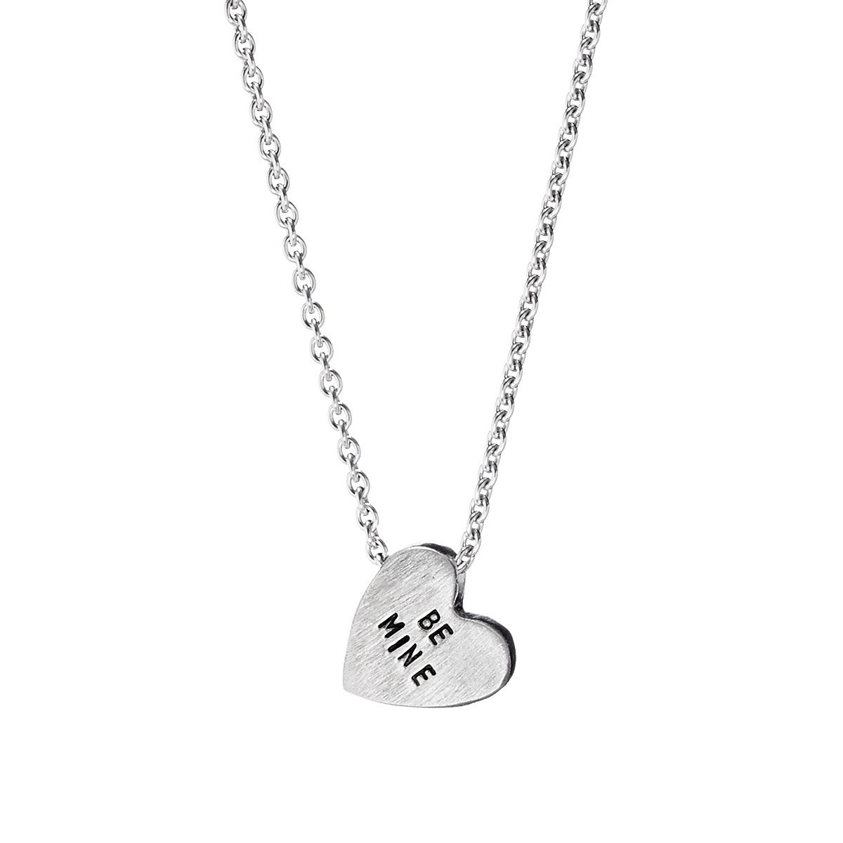 heart shape valentines day accessoriesforever products silver beautiful s necklace sweet valentine lovely set
