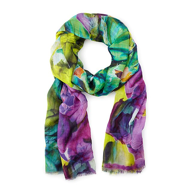 Art of Giving Thumbprint Scarf
