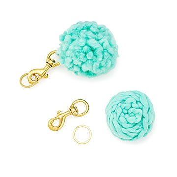 Pom-Pom Key Chain DIY Kit