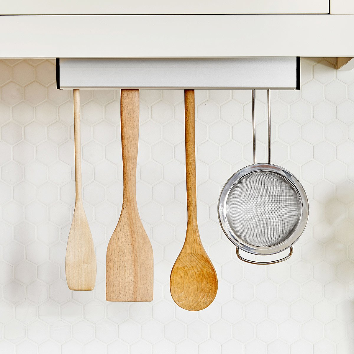 Floating Utensil Holder | Kitchen space savers, Spoon holder ...