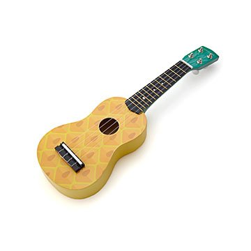 Tropical Pineapple Ukulele