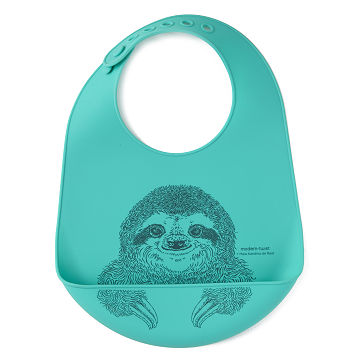Silly Sloth Bucket Bib