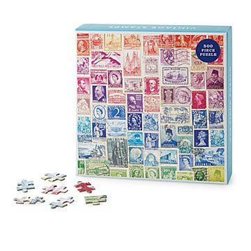 Vintage Stamps Puzzle