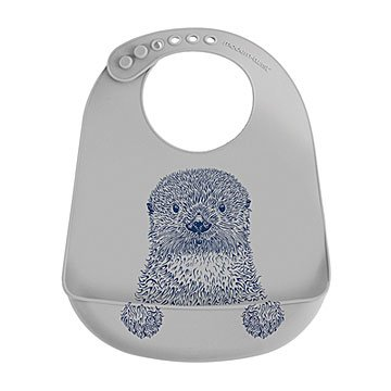 Curious Otter Bucket Bib