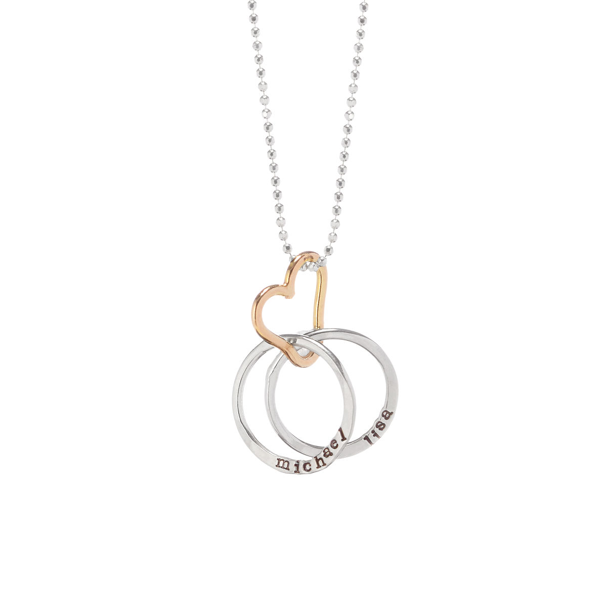 Customizable Personalized All Heart Necklace