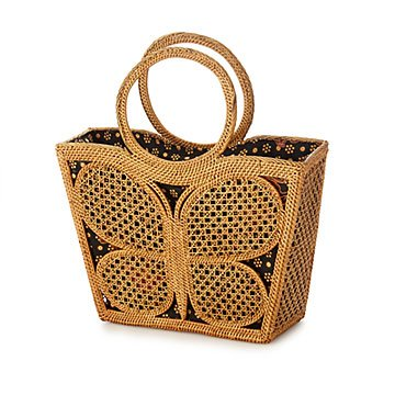 Butterfly Basket Bag