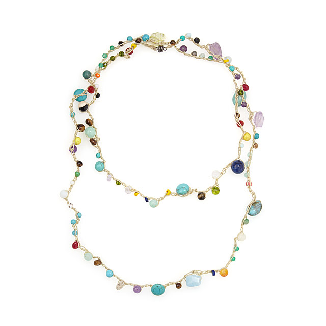 Castaway Gemstone Necklace