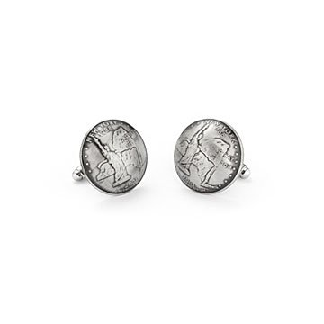 Statehood Quarter Cufflinks
