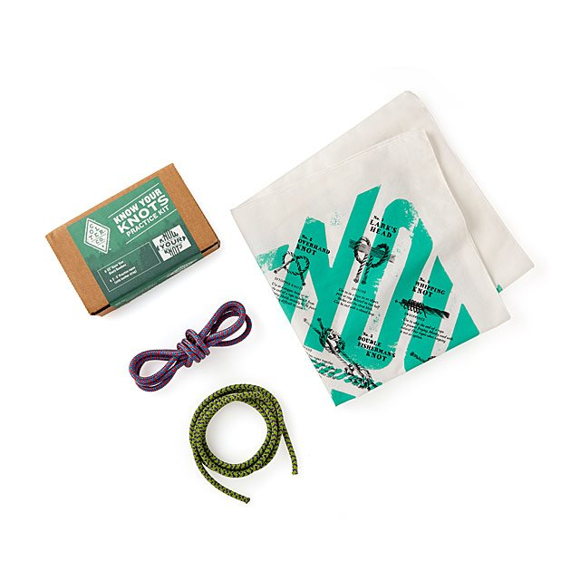 Know Your Knots Bandana Kit