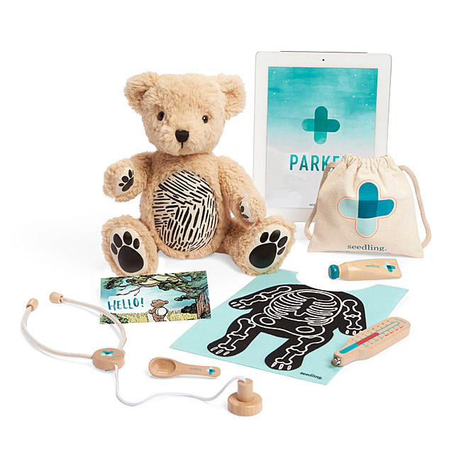 Parker the Interactive Bear Patient