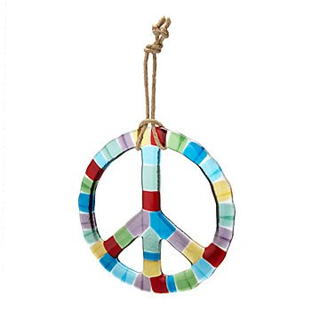 Peace Illuminated Sun Catcher