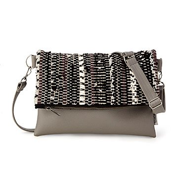 Scrappy Upcycled Foldover Clutch