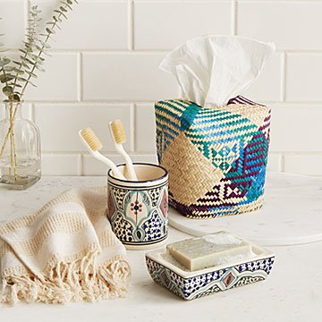 Bath Decor Global Gift Basket