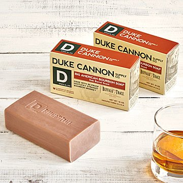Bourbon Soap - Set of 3