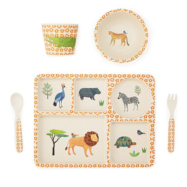 Safari Bamboo Dinner Set