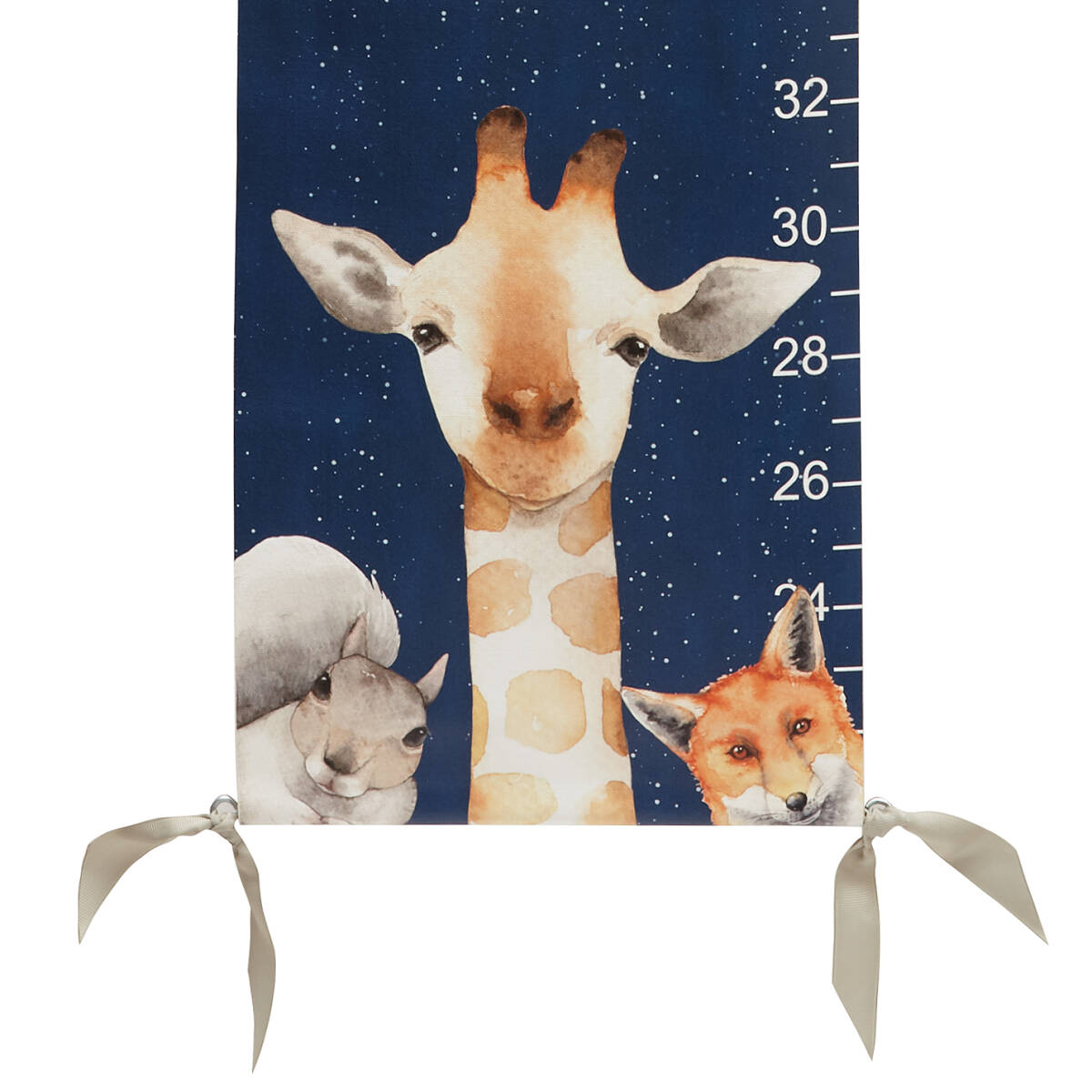 Personalized woodland animals growth chart height chart nursery personalized woodland animals growth chart 2 thumbnail nvjuhfo Image collections